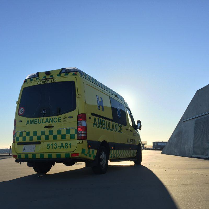 Ambulance set bagfra