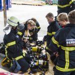 Brandkadetter afprøver ilt-udstyr