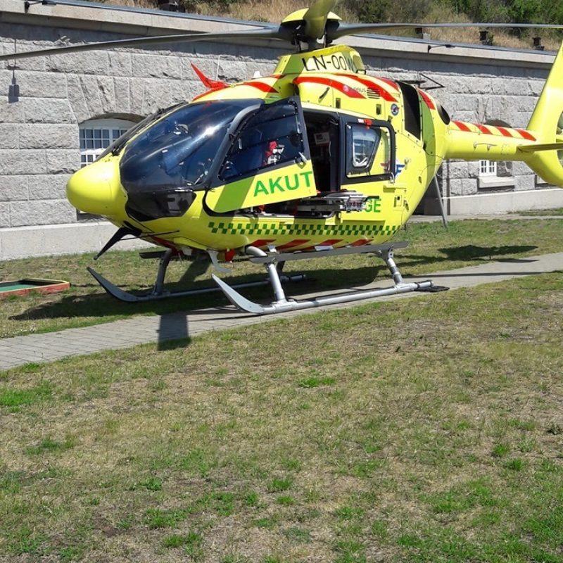 Akutberedskabets redningshelikopter