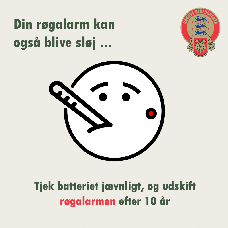Har du taget temperaturen på din røgalarm for nylig?